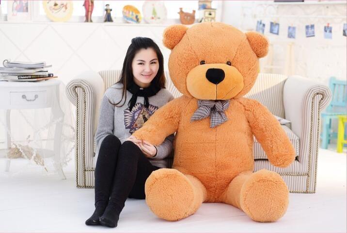 78/'/'White Big Teddy Bear Stuffed Soft Plush Animal Giant Doll Christmas Gift Toy