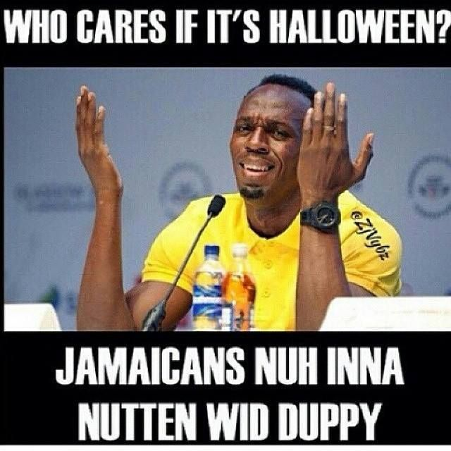 Jamaicans about Halloween