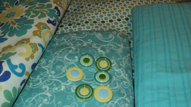 """""""Simply Sabrina"""" Collection  It all started with these lovely bolts of fabric that we could not resist.  www.hungouttobuy.com"""