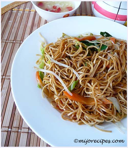 Mauritian-Chinese Fried Noodles (Chinese New Year Recipe)