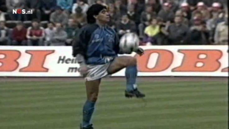 Warm-Up Maradona UEFA-Cup semi-final 1989 HD