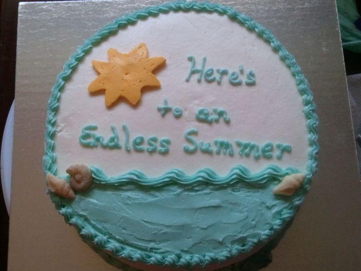 teacher retirement quotes beach themed   endless summer retirement for a teacher s retirement all buttercream ...