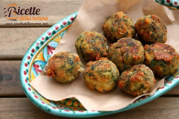 ricette polpette verdure
