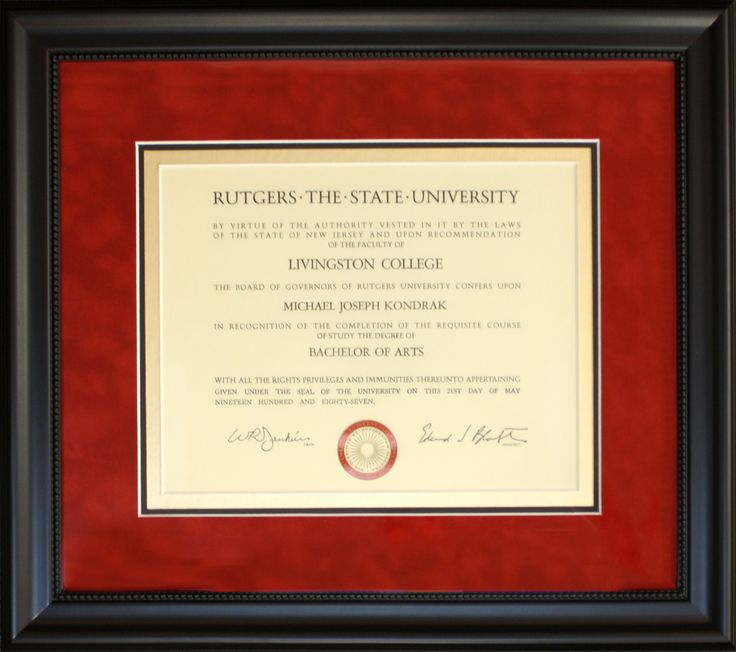 Diploma Frame With Matting Quotes