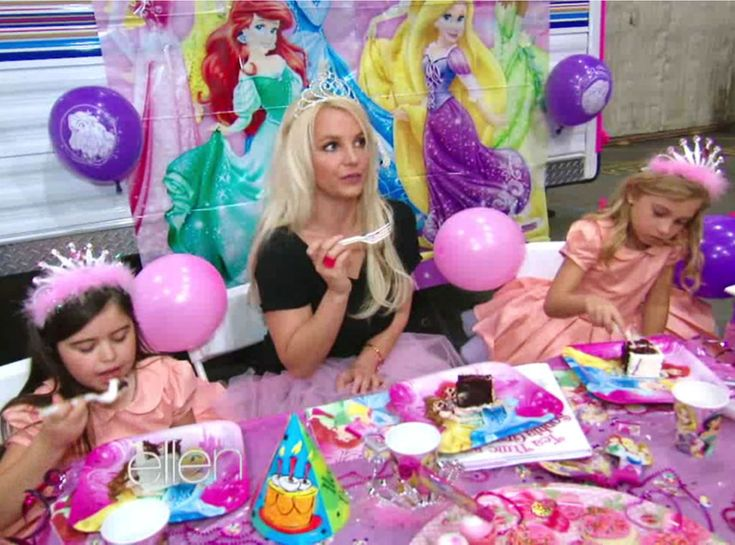 Britney Spears Gets a Birthday Surprise From Sophia Grace and Rosie on The Ellen DeGeneres Show