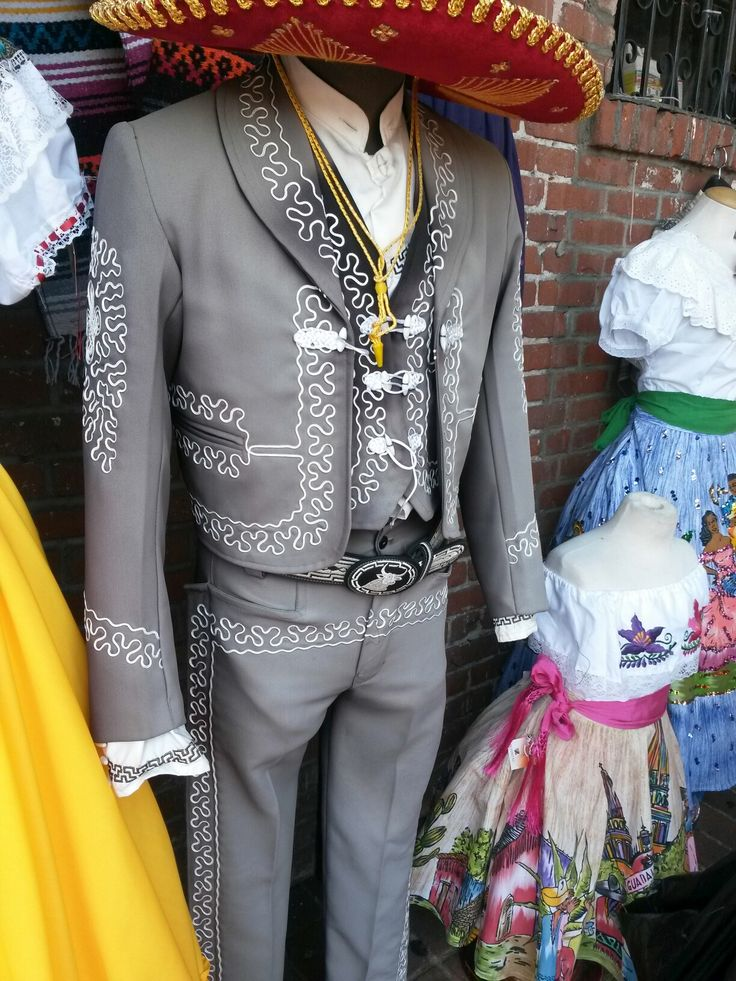 Charro suit at Placita Olvera