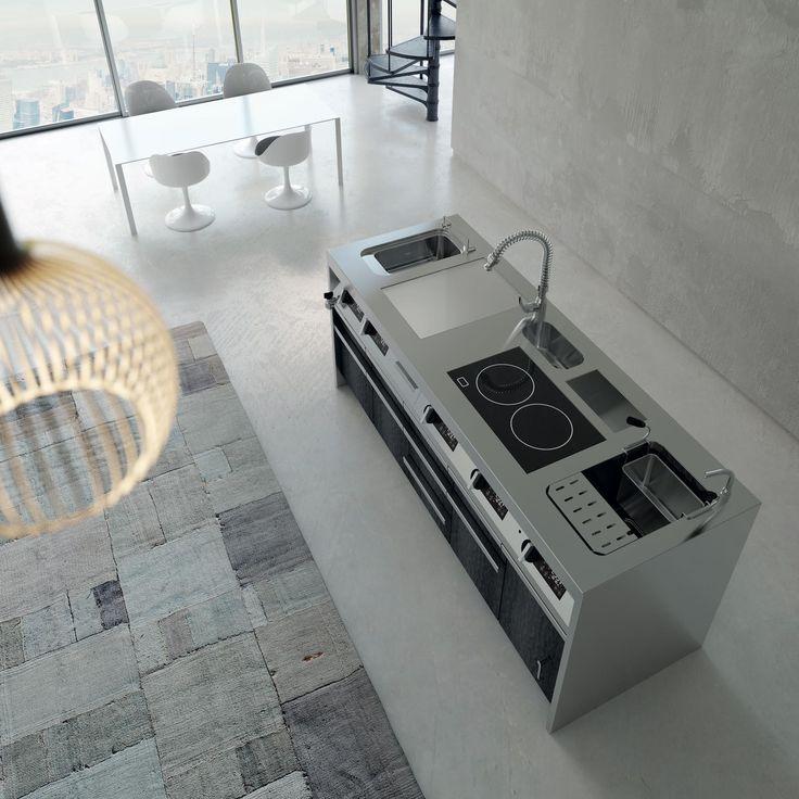 Evolution: a #kitchen that follows your style. #Silko #professionalkitchen