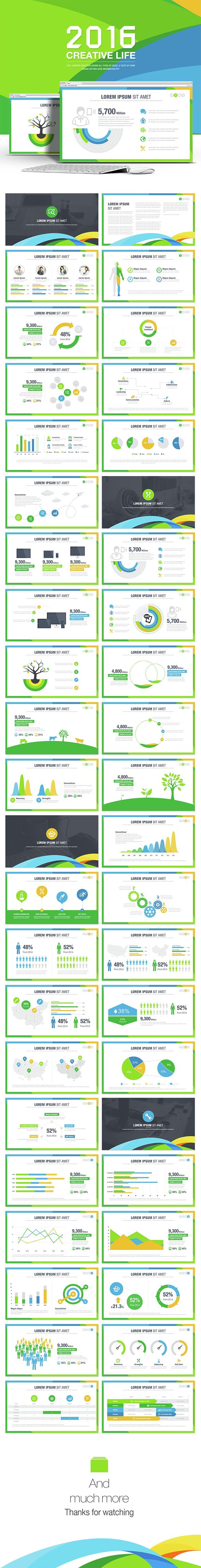 Creative Life Powerpoint Templates (PowerPoint Templates)