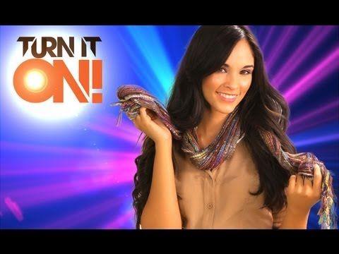 3 maneras de usar tus bufandas - Turn It ON - YouTube