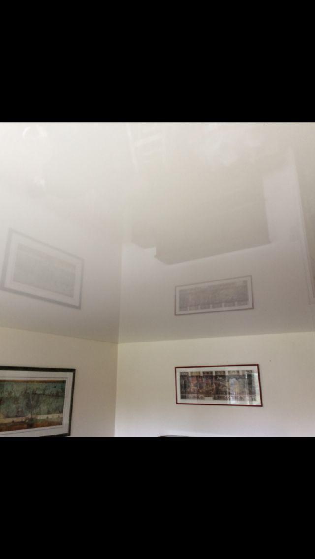 Plafond Tendu Blanc Laqué Plafonds tendus Pinterest