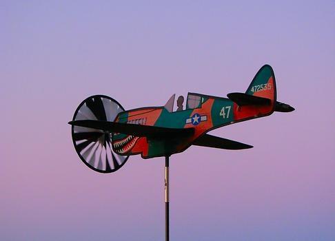 Airplane Weathervane Plans