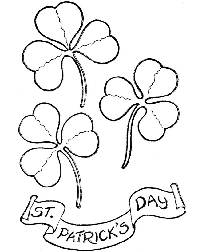 St patrick 39 s day coloring page hand embroidery holidays Coloring book embroidery
