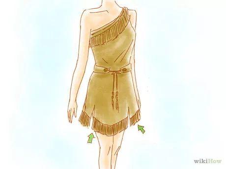 Imagem intitulada Make a Pocahontas Costume Step 17