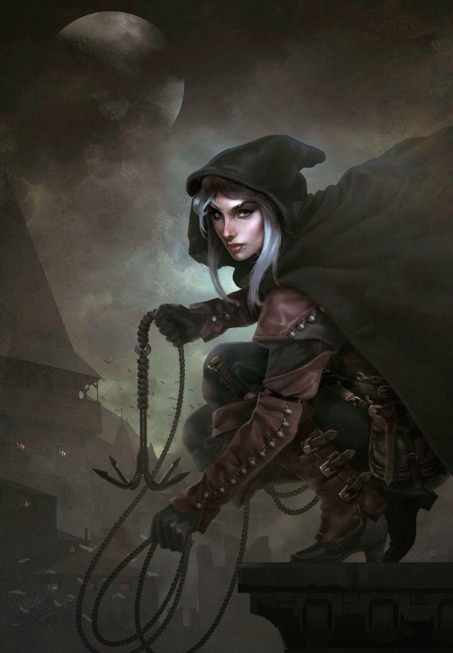Fantasy Art Thief Throne Of Glass Charakter Kunst Fantasy Figuren