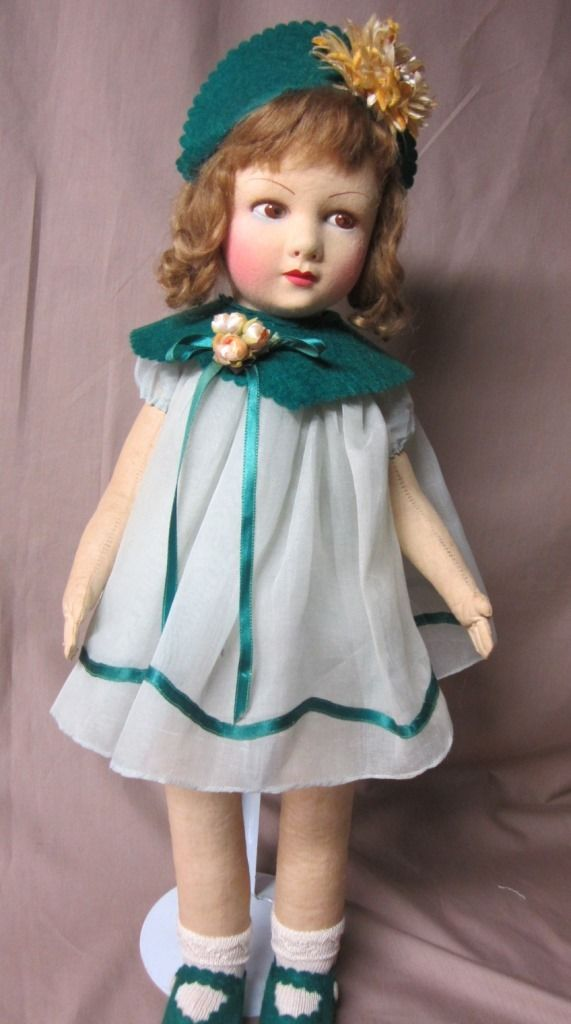 "Raynal French doll, 20"" from elainesdolls1951 on Ruby Lane"