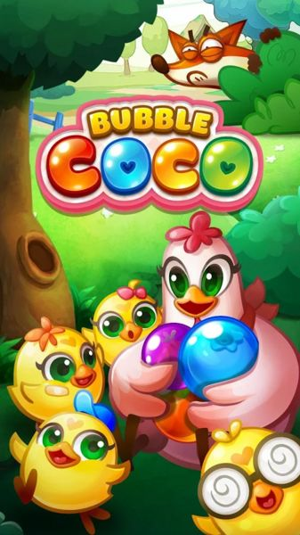 Bubble CoCo v1.4.7 [Mod]   Bubble CoCo v1.4.7 [Mod]  Requirements: 2.3 and upOverview: Pop your way to save CoCo's chicks in this bubble shooting adventure!  CoCo wakes up one night to find her chicks nowhere to be found! But the culprit can be none other than the devious Mr. Fox! Help CoCo rescue her chicks and teach the sneaky fox a lesson! With a slingshot in hand guide bubbles to bring CoCo's babies back to safety!  CAPTIVATING AND CHALLENGING GAMEPLAY! Shoot through bubbles in hundreds…