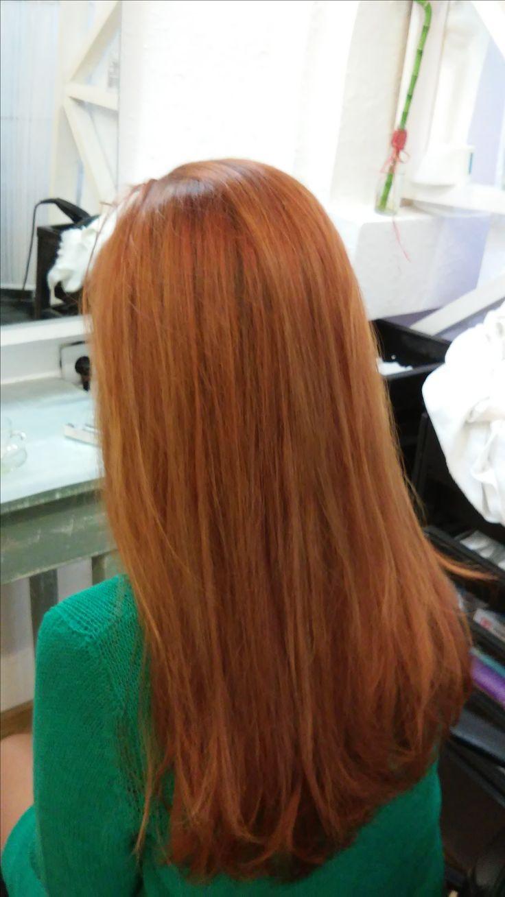Медные оттенки/ Рыжие волосы/ Рыжие девушки/ Мультитональное окрашивание/ Модный цвет волос/ Длинные волосы/красивые волосы