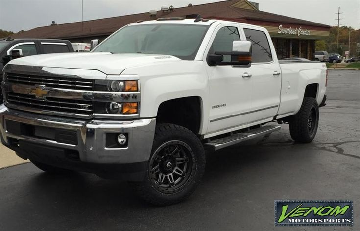 White 2015 Duramax by Venom Motorsports in Grand Rapids MI . Click to view more photos and mod info.