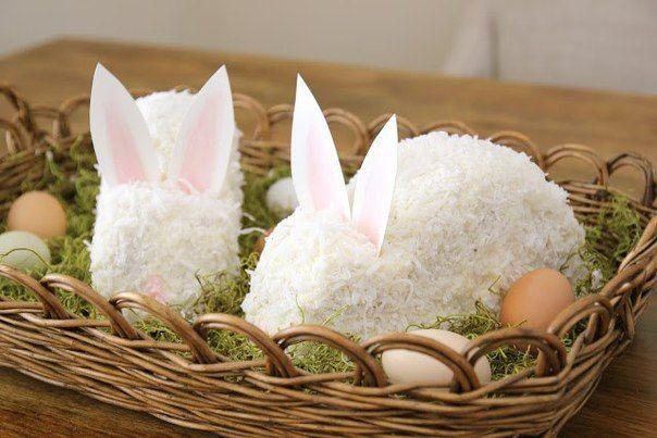 Пасхальный торт в виде кролика | Блог о праздниках