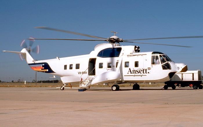 Sikorsky S-61N of Ansett Australia