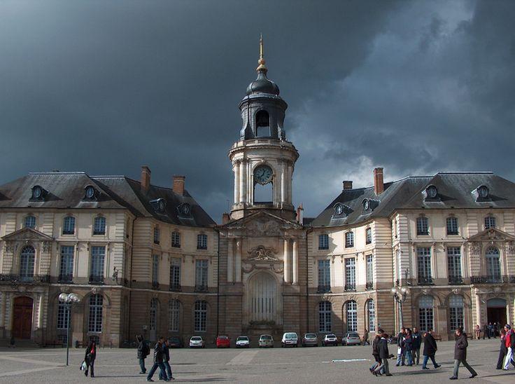 Mairie - Rennes, Bretagne