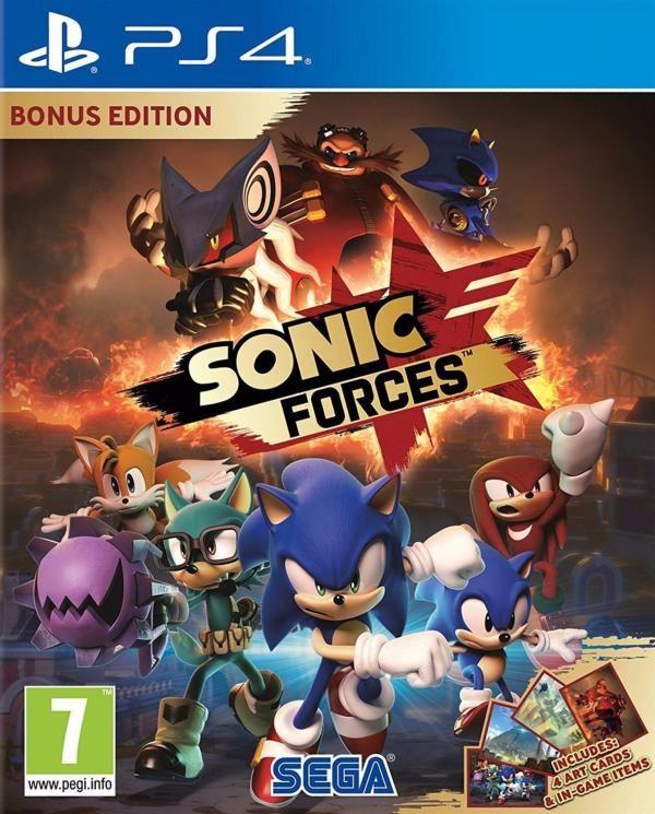 Juego Ps4 Sonic Forces Day One Juegos Ps4 Pinterest Juegos