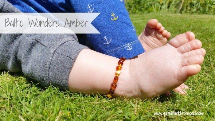REVIEW: Baltic Wonders Amber Teething Anklet