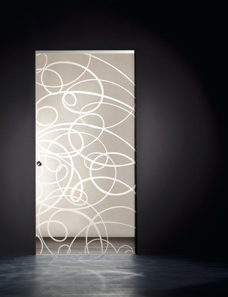 Aura Etched Pocket Door | Frameless Glass Doors  http://www.modernus.com/products/glass/aura-etched-pocket-sliding-doors/