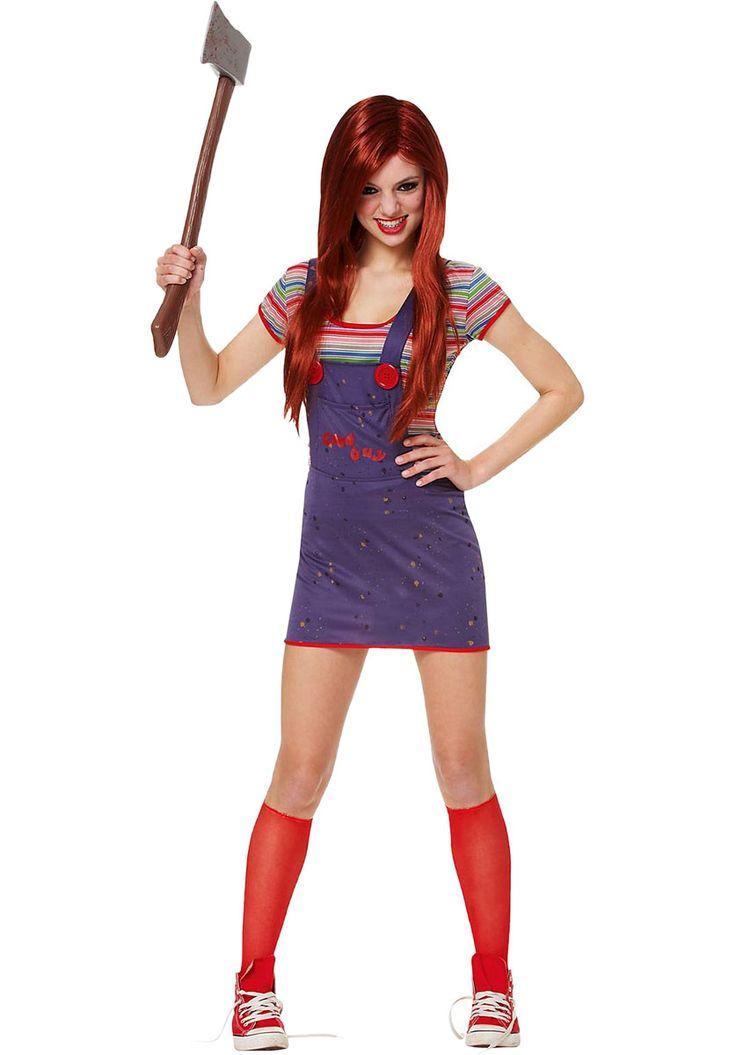 Female Teen Chucky Horror Costume, Child's Play Chucky Costume - Halloween Costumes at Escapade™ UK - Escapade Fancy Dress on Twitter: @Escapade_UK
