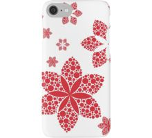 red flakes iPhone Case/Skin