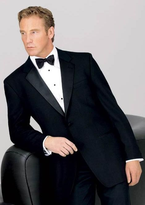 Big and Tall Neil Allyn 2 Button Notch Tuxedo - 100% Worsted Wool for Big Men - Mens Tuxedos Shop