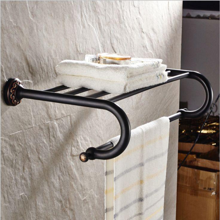 best 25  bathroom towel racks ideas only on pinterest