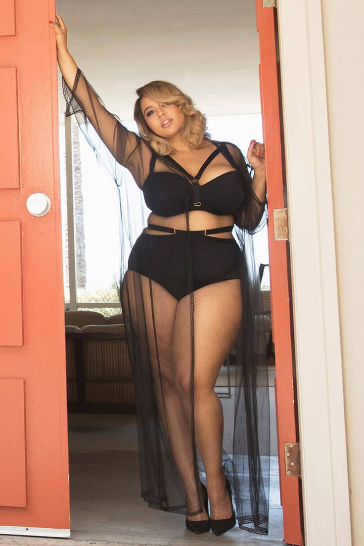 Plus Size Cutout Panty  #plussize