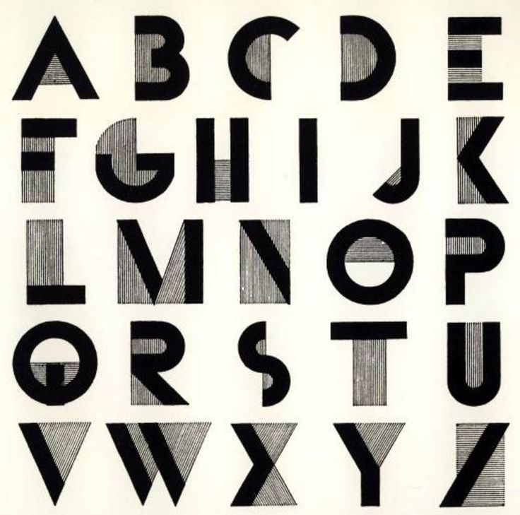 Art Deco Typography I Think This Is A Cool Font But It 39 S