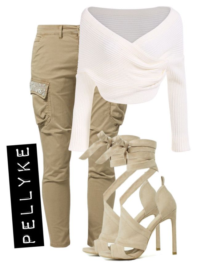 """x"" by pellyke on Polyvore featuring FRACOMINA"