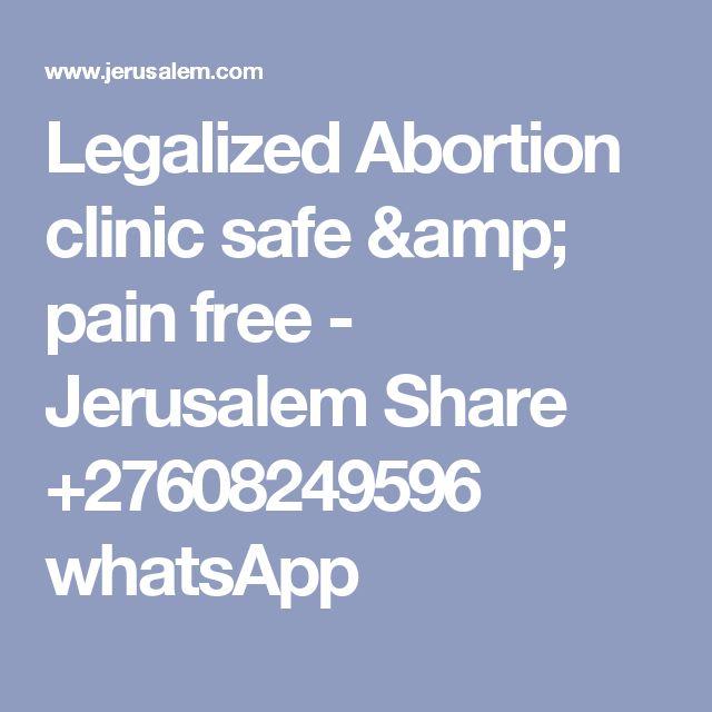 Legalized Abortion clinic safe & pain free - Jerusalem Share +27608249596 whatsApp