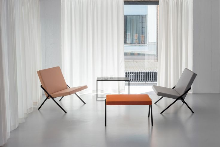 Minimalism and the De Stijl architectural movement inspired Loehr's new furniture collection, which was launched at a house designed by Oscar Niemeyer.