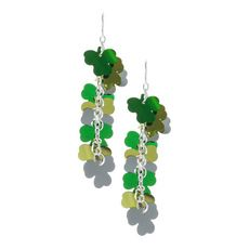 Shamrocks Drop Earrings