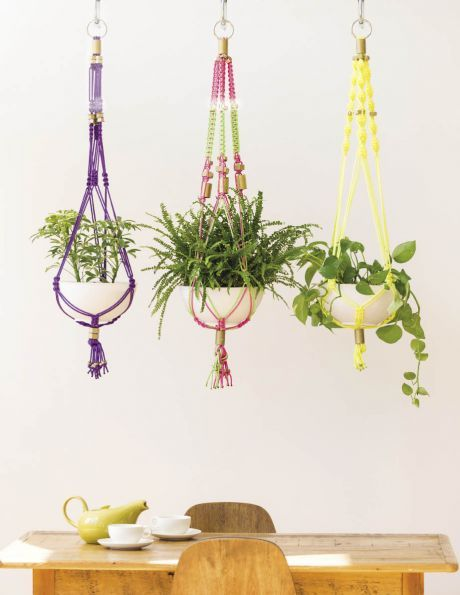 Craft Queen: Make This Rad Macrame Plant Hanger And Look Super Skilled