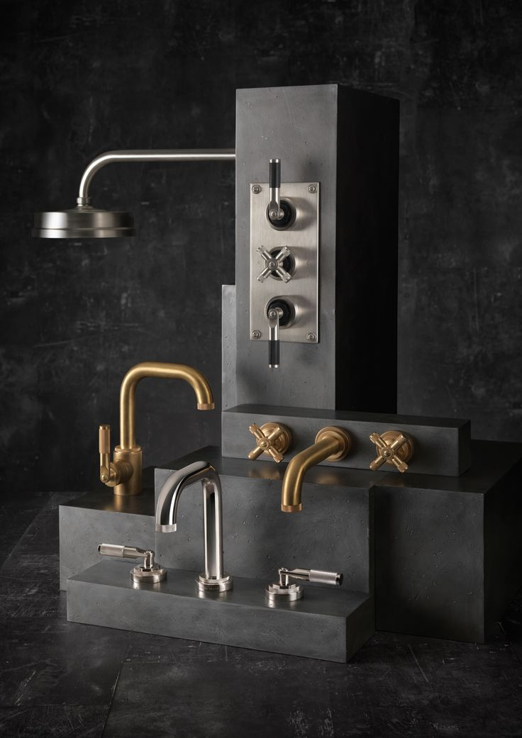 Landmark Industrial, with its bold and urban look, is an authentic reflection of the Bauthaus era. Underscored by the finest craftsmanship, see these magnificent showers and taps @samuel_heath