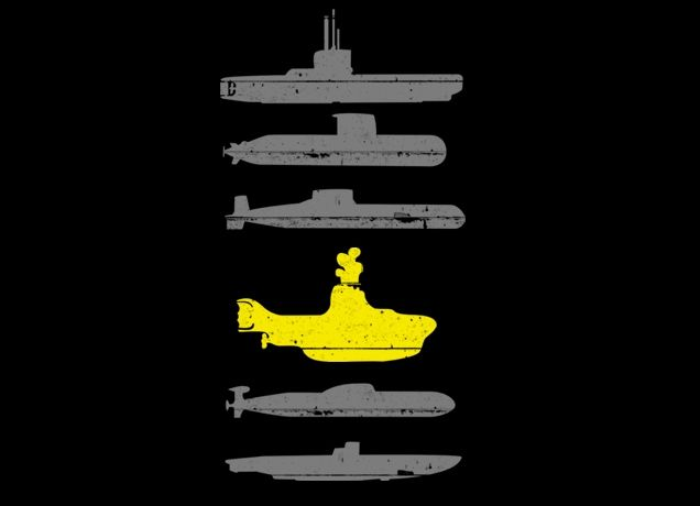 """""""Know Your Submarines"""" - Threadless.com - Best t-shirts in the world"""