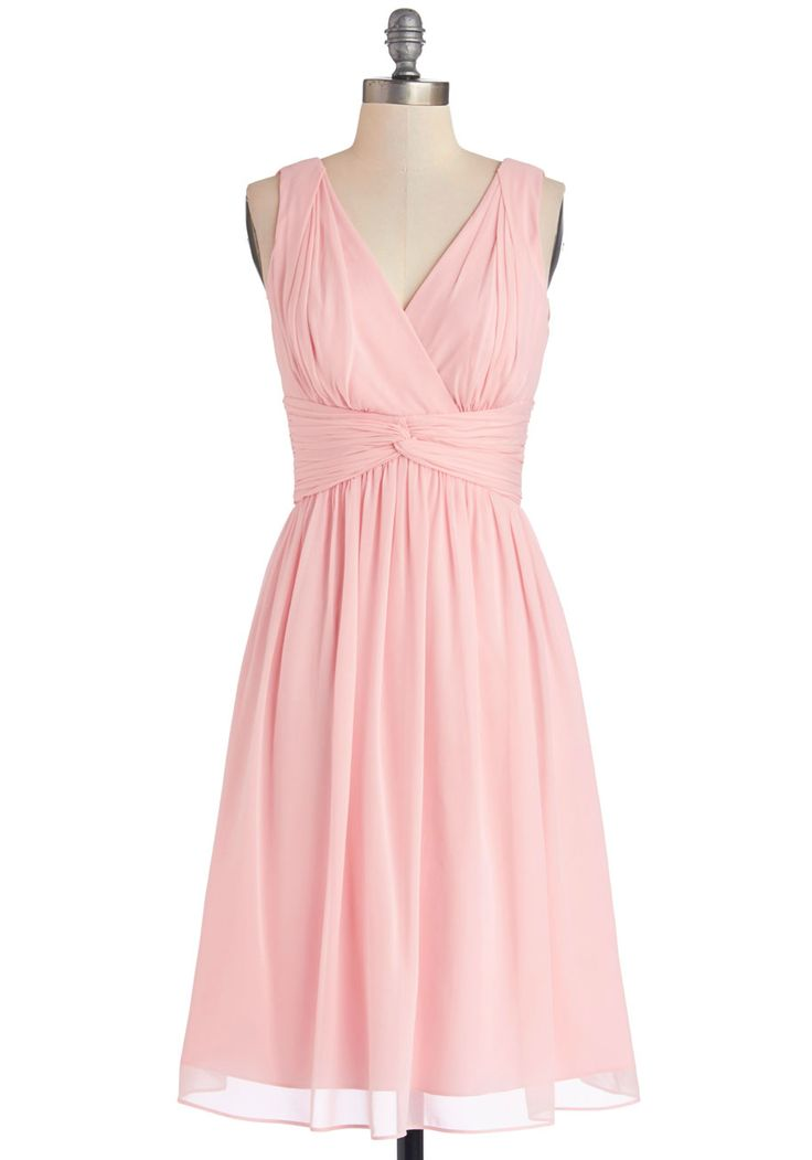 Glorious Guest Dress in Rose, #ModCloth // reminds me of the dress Hermione wore to Slughorn's party.