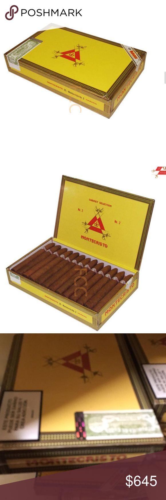Montecristo #2 Havana ~ Torpedo Sealed Box Legit 100 % Sealed Box of # 2's ~ Havana Montecristo Other