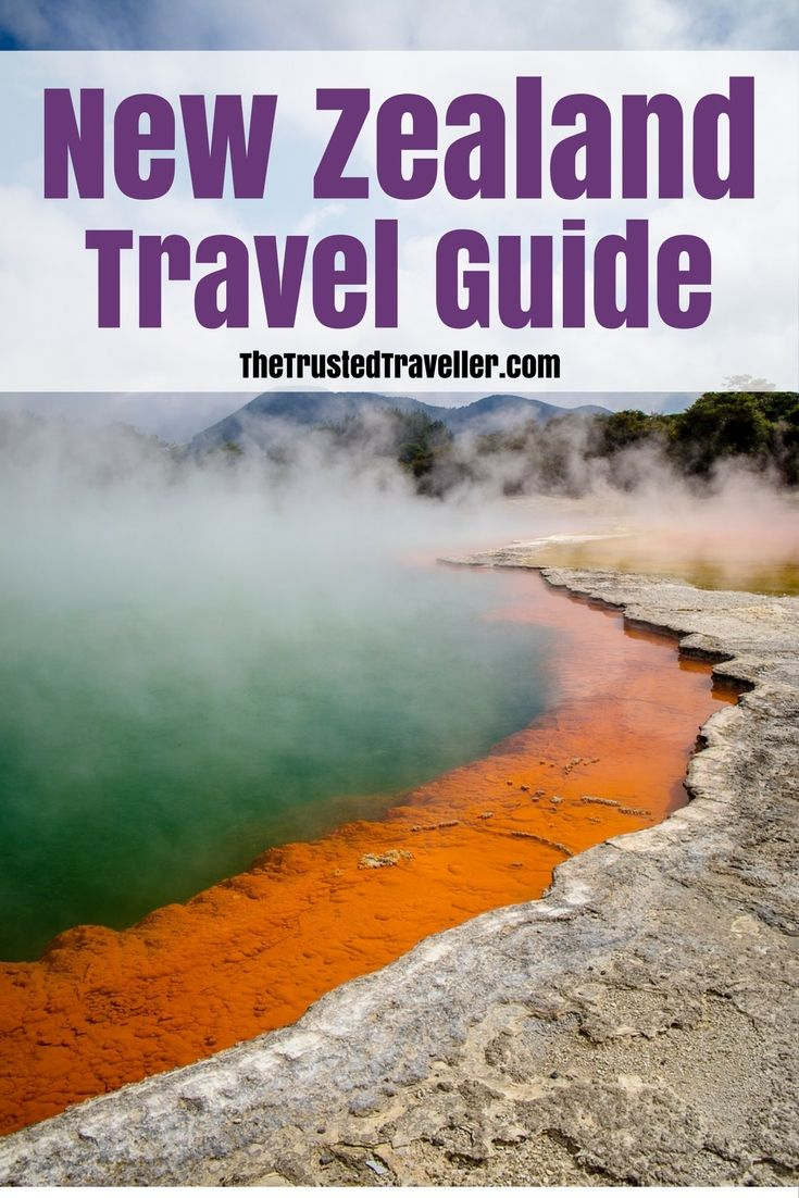 Wonderous geological features a plenty in New Zealand. Our travel guide contains everything you will need to get your New Zealand travel planning started. - New Zealand Travel Guide - The Trusted Traveller