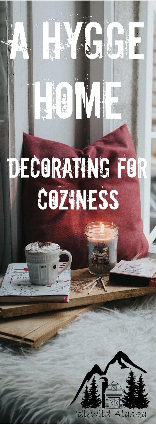 A Hygge Home - Decorating for Coziness - IdlewildAlaska