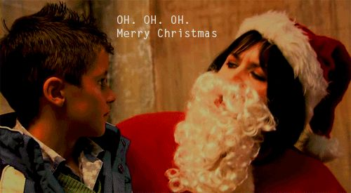 Gavin and Stacey The most convincing santa I've seen in a long time