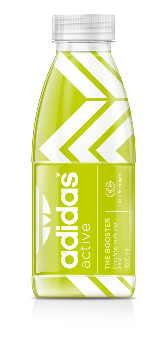 Finally, a sports drink with no additives or caffeine addidas sports drink #packaging