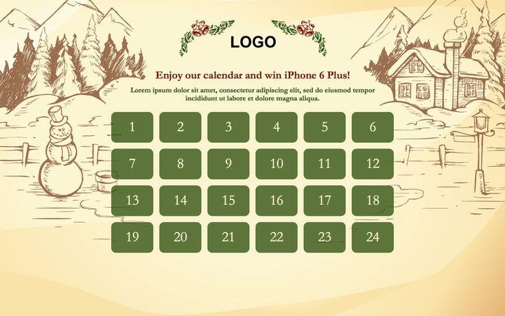 Advent calendar theme 27