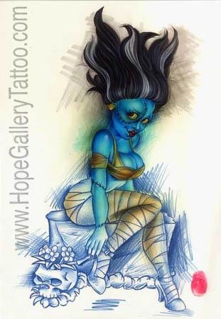 Joe Capobianco Tattoos - Fine Art - Hope Gallery Tattoo ... | 311 x 450 jpeg 50kB