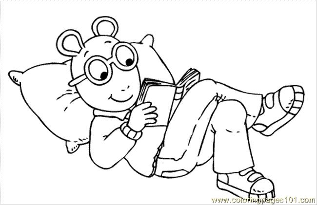 reading coloring pages for kids